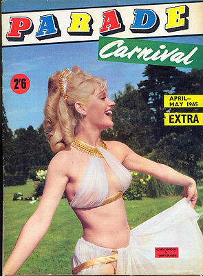 PARADE Magazine - CARNIVAL EXTRA, April/May 1965. Free UK Postage