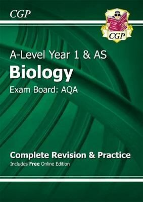New A-Level Biology: AQA Year 1 & AS Complete Revision & Practi... 9781782942832