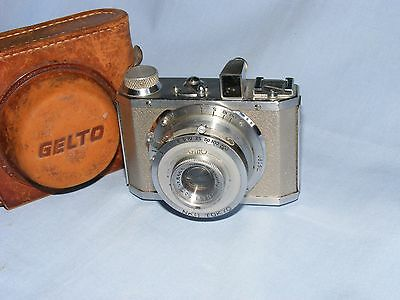 Vintage Gelto DIII 127 Roll Film Camera Grimmel 5cm Lens Made in Occupied Japan