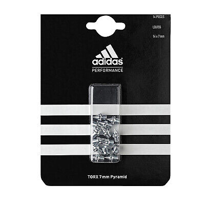 adidas TORX 7mm Pyramid Spikes Running Sprint Track & Field Replacement Set 14