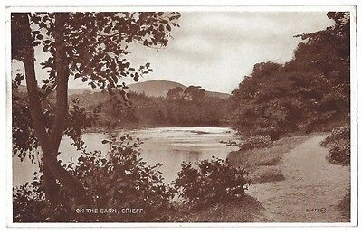 CRIEFF On the Earn, RP Postcard by Valentine, Postally Used 1931