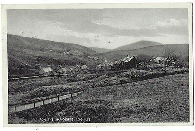 LEADHILLS View from the Golf Course, Old RP Postcard Postally Used 1932
