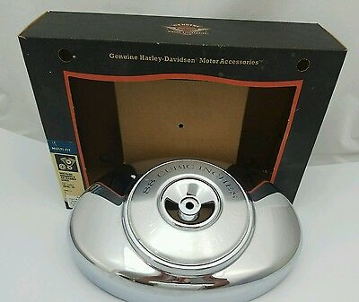Harley Davidson Nostalgic Bar & Shield Air Cleaner Cover Breather Box 29765-01