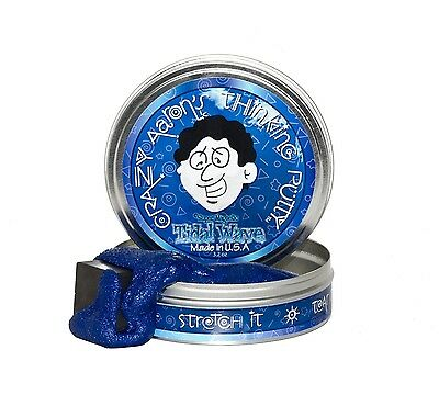 Crazy Aarons Thinking Putty 10 cm Large Tin Fun Super Magnetic Tidal Wave Gift