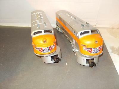 Lionel- 2355 Western Pacific F-3 Aa Diesel Set- Built From Parts- New- S1