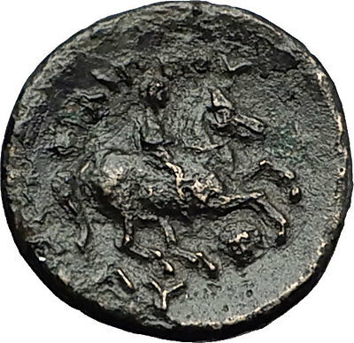 LYSIMACHOS 323BC Possibly Unpublished Mule Greek Coin Alexander the Great i58433