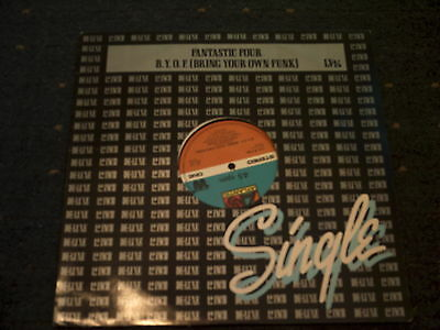 """Fantastic Four-Bring Your Own Funk 12"""" Single"""