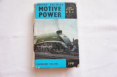 1963 BR Locomotives Motive Power Combined Volume abc Book Ian Allan
