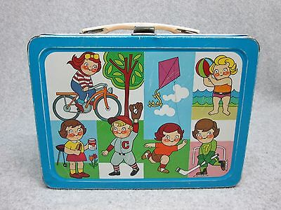 1959 CAMPBELL KIDS Adco Liberty LUNCHBOX  Licensed C#8