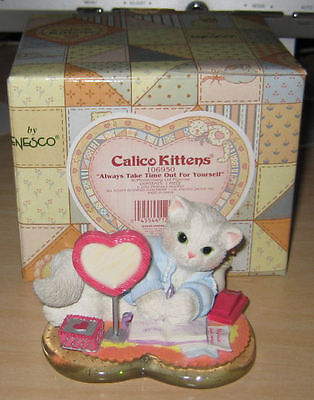 """* Calico Kittens """"Always Take Time Out For Yourself"""""""