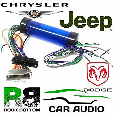 Jeep Wrangler (1997 to 2005) Car Stereo Amplifed Bypass Wiring Harness PC9-407