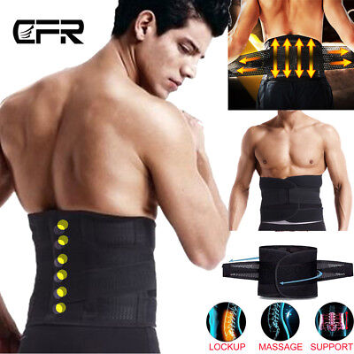 Magnetic Heat Waist Belt Brace For Lower Back Pain Relief Therapy Support UK HT
