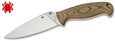 Spyderco Fb05P2 Temperance 2 Fixed Blade Knife With Sheath