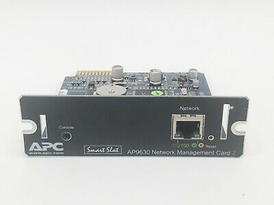 APC UPS 10/100Mbps Network Management Card 2 AP9631 > AP9630 1500 3000 5000 7500