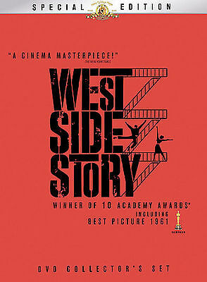 West Side Story (DVD, 2009, 2-Disc Set, Two Disc Special Edition) FREE SHIPPING