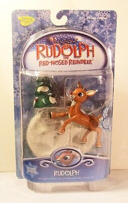 Rudolph & the Island of Misfit Toys Rudolph w Light Up Nose New NRFB Memory Lane