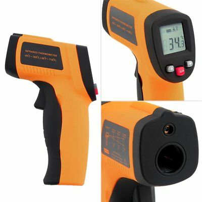 NEW Non-Contact LCD IR Laser Infrared Digital Temperature Thermometer Gun BH Lot