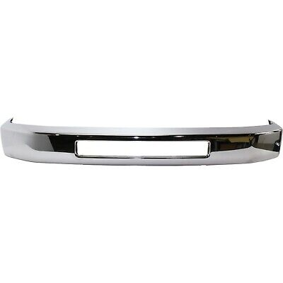 Front Bumper For 2008-2014 Ford E-350 Super Duty Chrome Steel