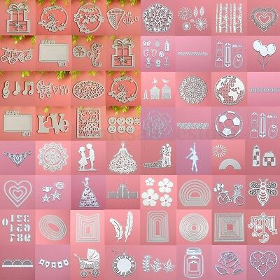 Metal Cutting Dies Stencil DIY Scrapbooking Album Paper Card Embossing Craft