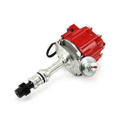 Oldsmobile 400 425 455 65K Coil HEI Electronic Distributor - Red Cap