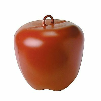"""Apple Red 9"""" x 9"""" Horses Chewing Ceiling Toy Equestrian Stable Accessories"""