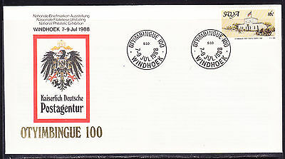 South West Africa  1988 Otyimbingue Exhibition First Day Cover - Unaddressed