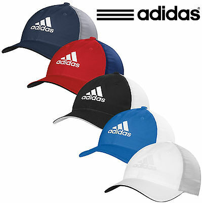 Adidas Golf 2017 Lightweight Climacool FlexFit Cap Lightweight Breathable Hat