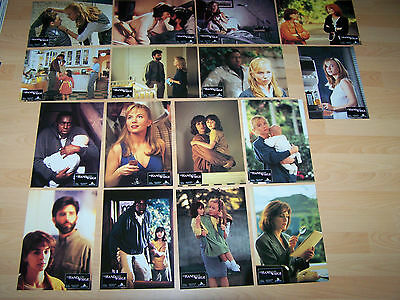THE HAND THAT ROCKS THE CRADLE - set of 16 lobby cards ´92 - REBECCA DEMORNAY