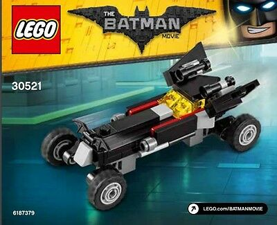 Lego Batman Movie. The Mini Batmobile 30521 Polybag BNIP