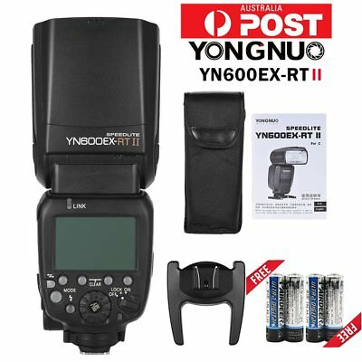 Yongnuo YN600EX-RT II Wireless Flash TTL Slave Master HSS For Canon 700D 650D AU