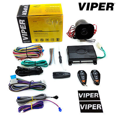 Viper 3102V 1-Way Vehicle Security Car Alarm With Siren & 2 Remotes