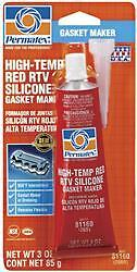 Permatex 81160 Gasket Sealer; Squeeze Tube; 3 Ounce;