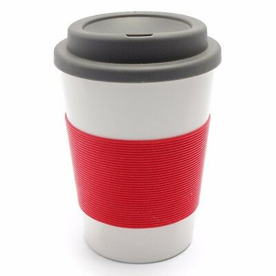 335ml 12oz Thermal Insulated Double Wall Cup Tea Coffee Travel Mug Take Away