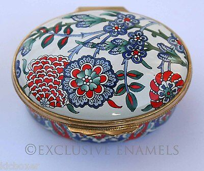 Halcyon Days Enamels Iznik Tile British Museum Limited Edition Enamel Box