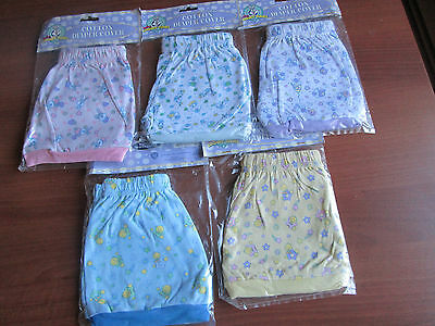 Nip Wb Baby Looney Tunes Diaper Covers/ Shorts Tweety ~Taz ~Lola ~Sylvester O/S
