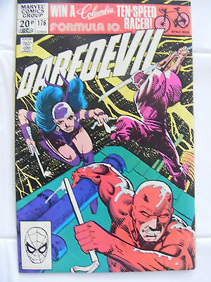 Daredevil Vol 1 # 176 Nov 1981 Marvel, Modern Age, 1st Stick, Pence Copy