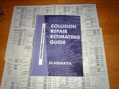 OEM part number guide Nissan Primera 1997 on