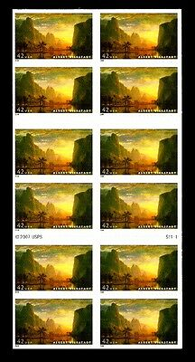 2008- ALBERT BIERSTADT - #4346a Mint -MNH- Convertible Pane of 20 Postage Stamps