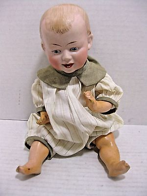 Vintage Marseille #217 Doll Bisque Head Composition Limbs & Body