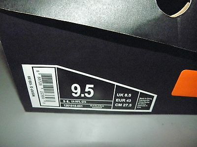 Under Armour Infil Gtx Gore-Tex Waterproof Tactical Boots Mens 9.5 M Black New