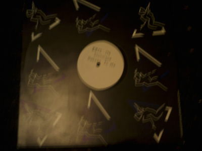 """Technique-Heaven To Me-One Sided White Label 12"""" Single"""