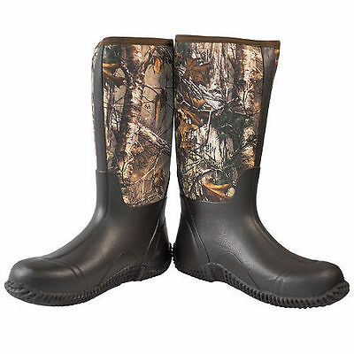 5d6f1abbb65e New Habit All Weather Camo Hunting Realtree Boots 49 99 Picclick