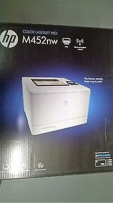 NEW HP LASERJET M452nw PRINTER,  FREE Next Day Delivery See Description