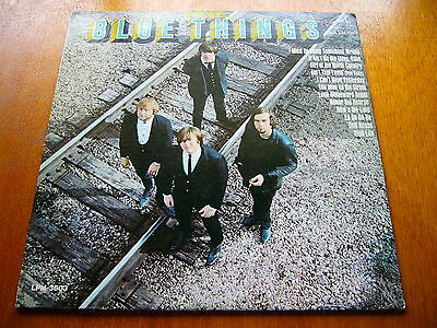 BLUE THINGS s/t RARE AND GREAT GARAGE FOLK ROCK 1966 1st PRESS MONO LP PROMO