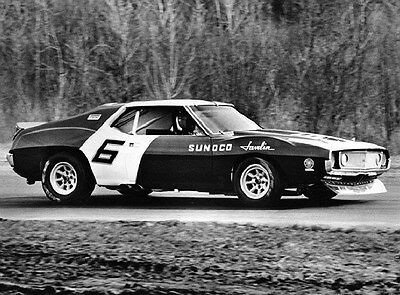 1971 AMC Sunoco Javelin Race Car Penske Mark Donohue Factory Photo ca6274