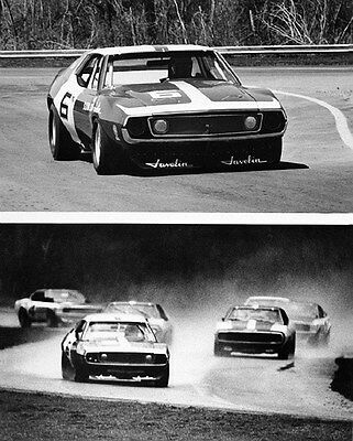 1971 AMC Sunoco Javelin Race Car Penske Mark Donohue Factory Photo ca6276