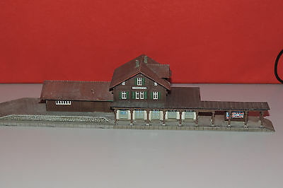 RF 08 Z Scale KIBRI 6712 Chateau d'OEX  Train Station
