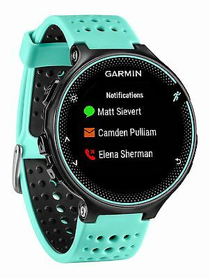 New Garmin Forerunner 235 Frost Blue Activity Tracking Watch 010-03717-48 w/ GPS