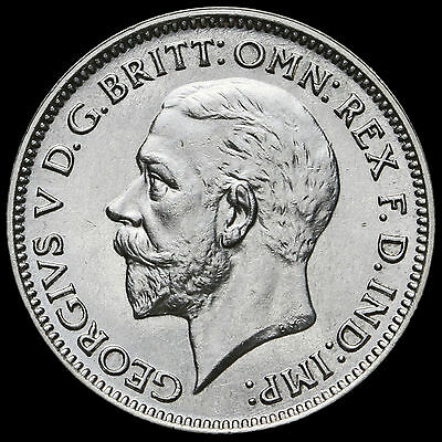 1933 George V Silver Sixpence – UNC