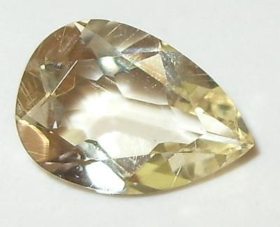 3.40ct Faceted Oregon Sunstone Pear Cut  SPECIAL